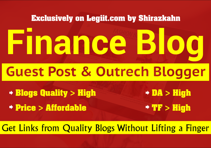 I Will Publish Your Guest Post on High Quality General Blog | Legiit