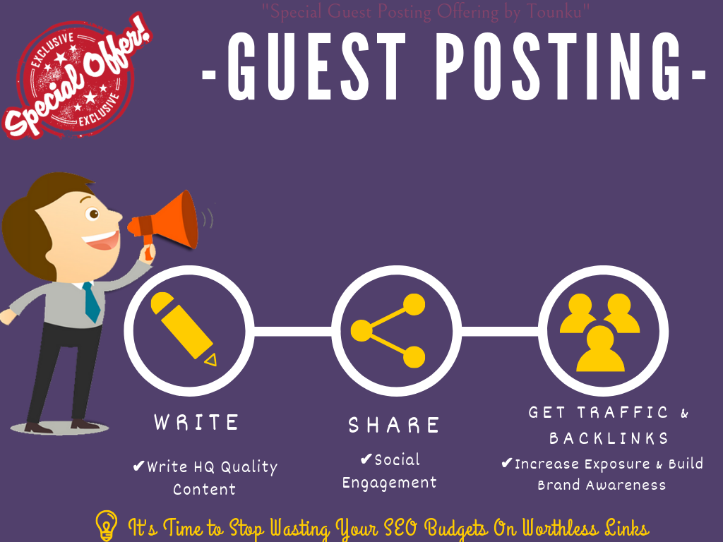Do Guest Post In Technology And Help You In Link Building