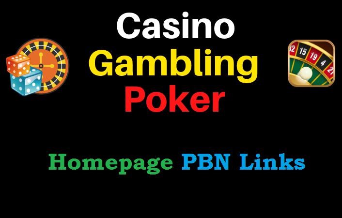 10 Niche Pbn Links For Your Casino Gambling Poker Website Legiit
