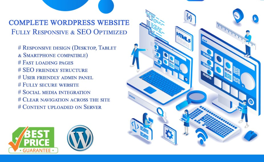 Do Responsive Web Design And Build A Complete Website Legiit