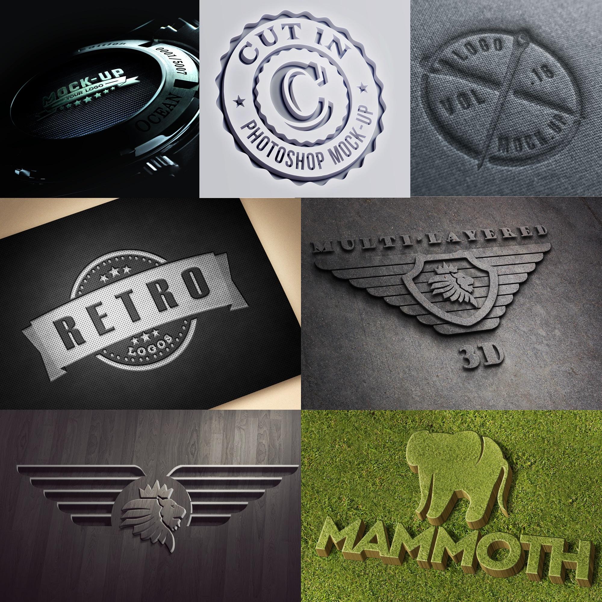 I Will Design Quality Photorealistic 3D Logo , Brand, Stamp