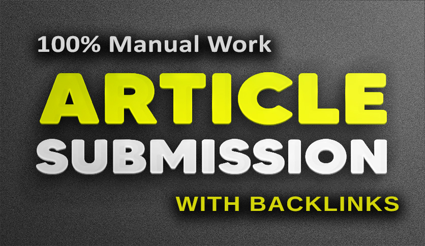 manual dofollow backlinks from article submission, get high ranking and  traffic | Legiit