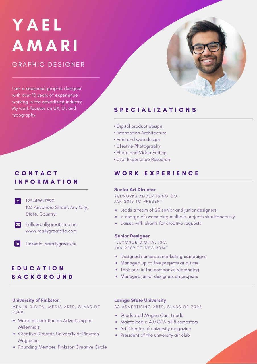 Create Or Edit Resumes Cvs And Cover Letters Legiit